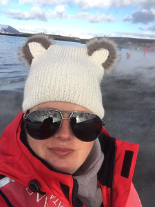 Me on Deception Island